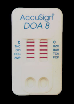 AccuSign® DOA 8 Test Device